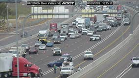 I-17 SB lanes reopen after accident involving a semi