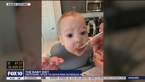 The baby diet: Stick to an eating schedule and pay attention to portion sizes, say dietitians