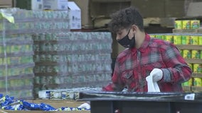 Young volunteers help feed the hungry at United Food Bank in Mesa