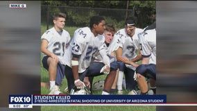 Three 17-year-olds arrested in fatal shooting of UArizona student