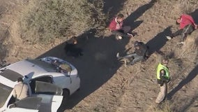 Five people in custody after I-10 police chase near Casa Grande