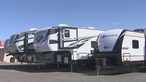 Arizona RV sales booming ahead of spring break and summer travel
