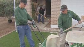 Arizona veterans offer help to fellow veteran to make home improvements
