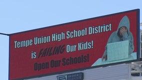 New Tempe billboard demands kids be allowed back in school