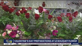 Valentine's Day preparations underway in Arizona flower shops