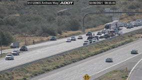 Seven injured, including 4 children, in multi-car crash on I-17 near Anthem