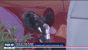 Pain at the pump: Phoenix well above national gas price average