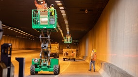 I-10 tunnel in downtown Phoenix getting lighting makeover