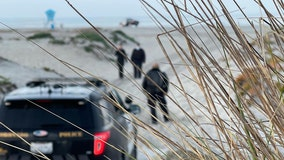 Southern California man arrested, accused of trying to bury wife alive at beach
