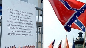Confederate flags banned at Daytona 500