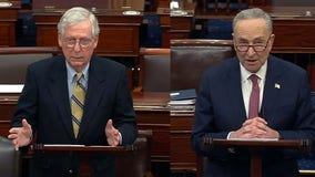 Different votes, same message: Schumer, McConnell speak after Senate's acquittal and condemn Trump