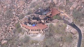 'Wedding Cake House' in Carefree damaged by massive fire