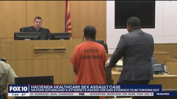 Man accused in Hacienda Healthcare case requests for DNA evidence to be tossed