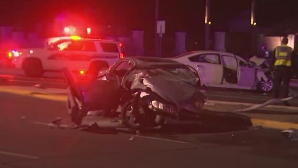 Phoenix FD: Five critically injured in crash near 20th Street and Baseline