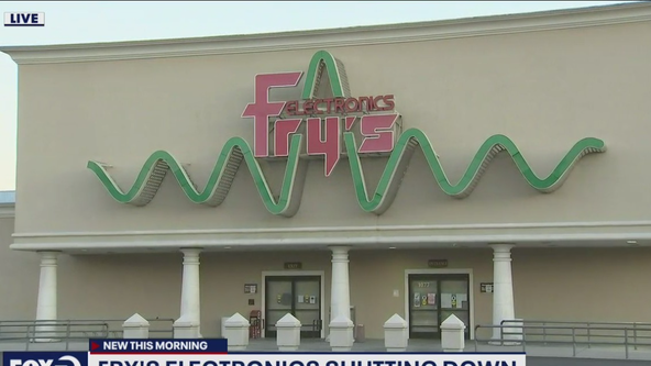 Fry's Electronics announces permanent shutdown