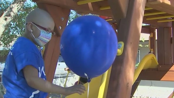 Seven-year-old girl receives her own playset from Make-A-Wish Arizona