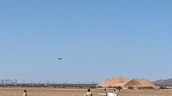 Pilot doing OK after emergency landing near Marana
