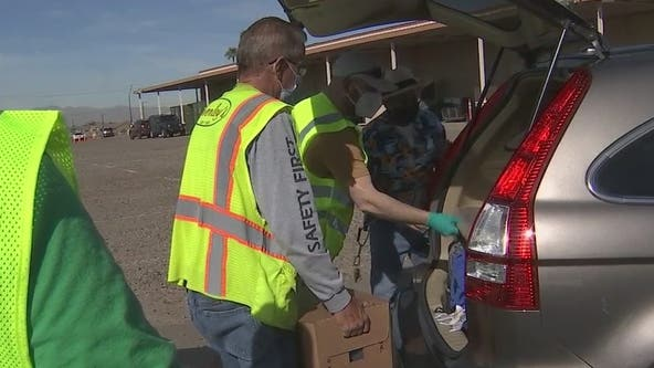 Thousands near Luke Air Force Base had tainted drinking water; water bottle distribution underway