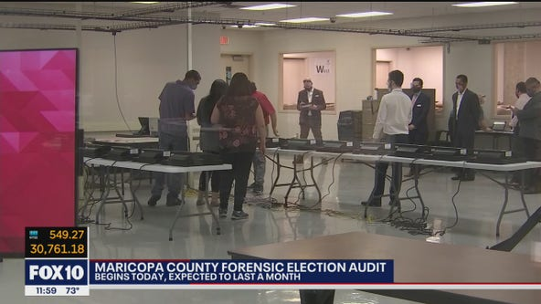 Maricopa County begins audit of voting equipment in 2020 election