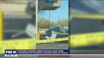 Peoria man's truck stolen and used to pull out ATM, family says