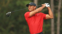 Dozens of golfers, fans wear Tiger Woods' signature red polo days after crash in show of support