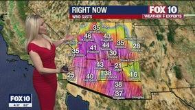 4 p.m. Weather Forecast - 3/3/21