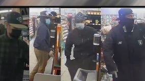 Phoenix PD: Four men wanted for allegedly stealing more than $3,000 in items from Circle K