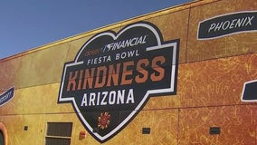 Desert Financial Fiesta Bowl Kindness Arizona caravan touring Arizona to spread some kindness