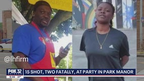 2 dead, 13 wounded in shooting at party at Park Manor business
