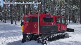 Crews rescue New York hiker stranded during Arizona snow storm