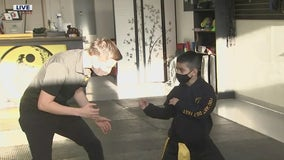 Glendale martial arts studio holds event to combat human trafficking