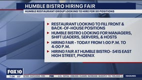 Humble Restaurant Group hiring for dozens of jobs