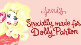 Jeni's Ice Cream announces new Dolly Parton flavor to benefit her child literacy program