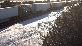 Drivers report being stuck in traffic for hours after Northern Arizona snowstorm causes freeway closures