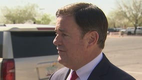 Arizona Gov. Ducey fields questions about immigration, vaccines and low public school enrollment