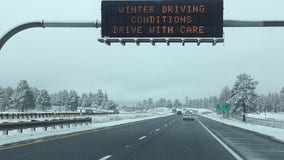 Snow storm prompts ADOT to caution against travel in Arizona's high country areas