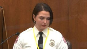 Off-duty firefighter testifies she 'desperately wanted to help' George Floyd at scene