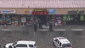 Investigation underway after man was shot at Glendale business