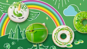 Wear green, get a free doughnut at Krispy Kreme