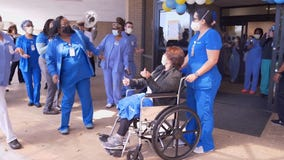 New Orleans hospital marks 10,000th COVID-19 recovery with jazz band sendoff