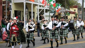 The first St. Patrick's Day parade in the U.S. was actually held in Florida, historians say