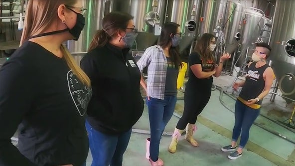 Huss Brewing Company partners with Pink Boots Society for International Women's Day