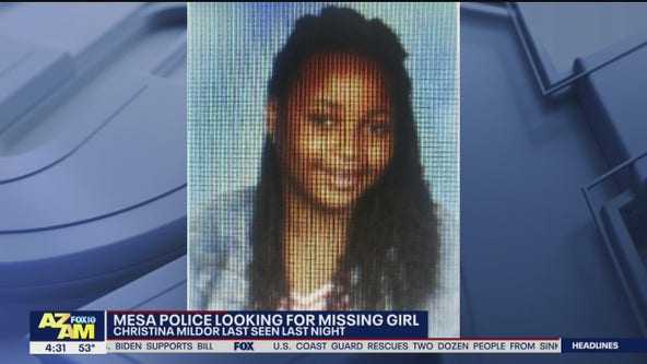 Mesa Police searching for missing 11-year-old girl