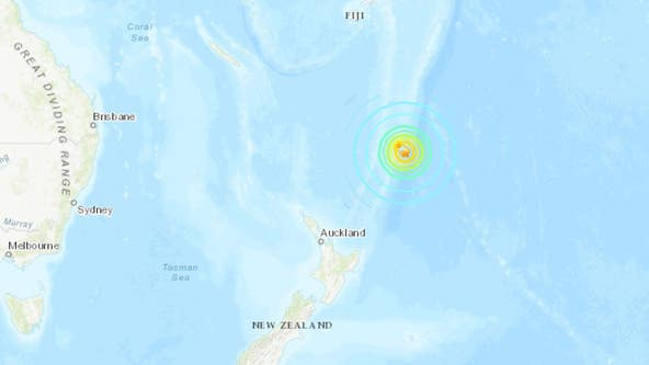 Tsunami watch issued for Hawaii after 8.1-magnitude earthquake off New Zealand