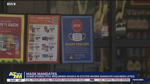 Grocery store chains to continue enforcing mask mandates