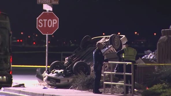 2 dead in single-car rollover crash in Surprise