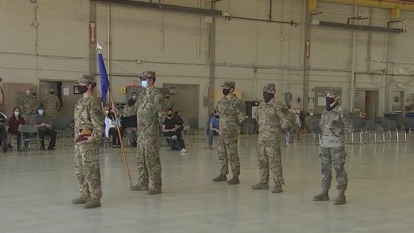 Sendoff ceremony held for Arizona National Guardmembers