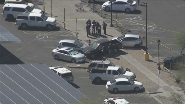 Four-year-old girl dies after parking lot crash at Glendale Walmart
