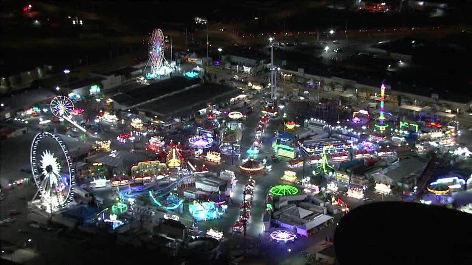 The Arizona State Fair, in an aerial photo taken in 2019.