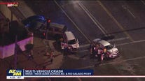 Driver who fled from DPS trooper involved in multi-car crash in Mesa